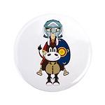 "Roman Gladiator on Horse 3.5"" Button (100 Pk)"