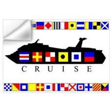 Cruise Signal Flags-b Wall Decal