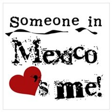 Mexico Loves Me Poster