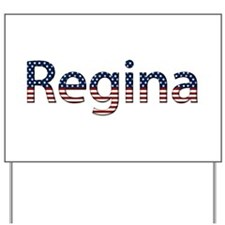Regina Stars and Stripes Yard Sign