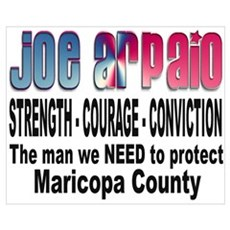 Sheriff Joe Arpaio the man we Canvas Art