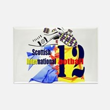 Scotland International 12 Rectangle Magnet