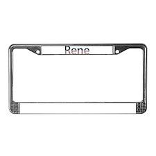 Rene Stars and Stripes License Plate Frame