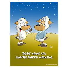 Sheep Walker Poster