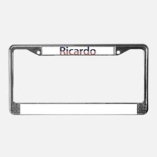 Ricardo Stars and Stripes License Plate Frame