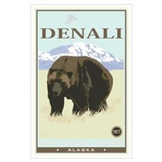 National Parks - Denali Poster