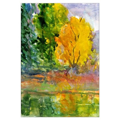 Autumn Woods Canvas Art
