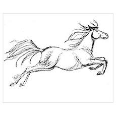 Equestrian Art Poster
