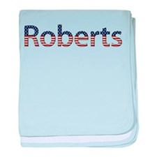 Roberts Stars and Stripes baby blanket