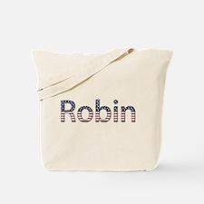 Robin Stars and Stripes Tote Bag
