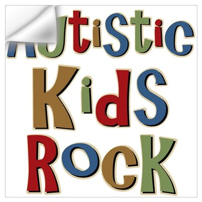 Autistic Kids Rock Wall Decal