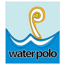 WP = Water Polo Framed Print