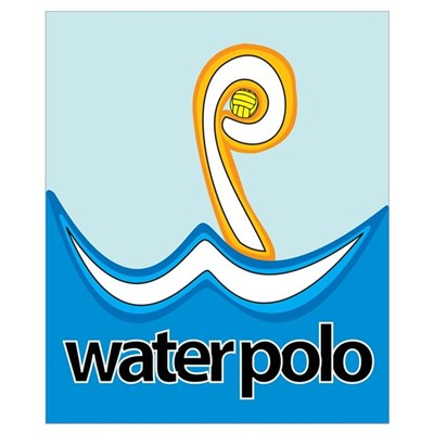 WP = Water Polo Poster