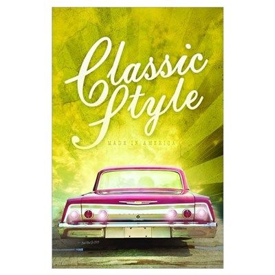 Classic Style Poster