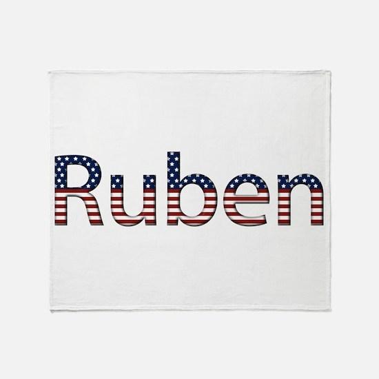 Ruben Stars and Stripes Throw Blanket