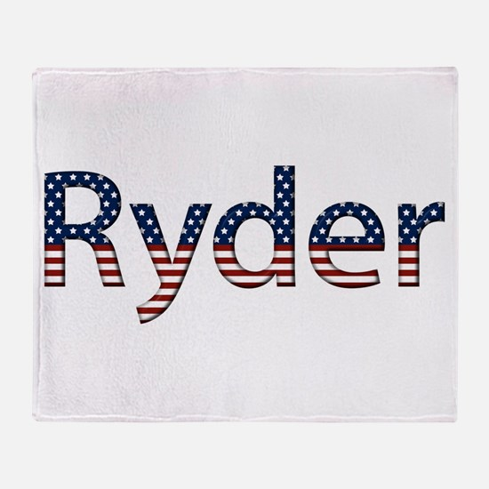 Ryder Stars and Stripes Throw Blanket