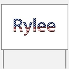 Rylee Stars and Stripes Yard Sign