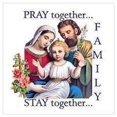 Pray the Rosary - Print (e) Poster