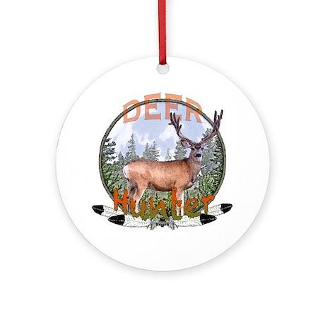 Deer Hunter 2 Ornament (Round)