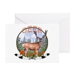 Deer Hunter 2 Greeting Cards (Pk of 20)