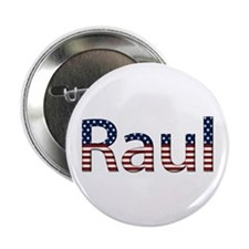 Raul Stars and Stripes Button
