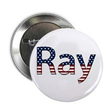 Ray Stars and Stripes Button