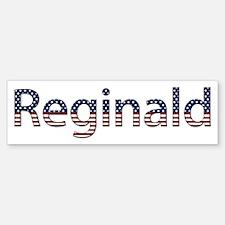 Reginald Stars and Stripes Bumper Bumper Bumper Sticker