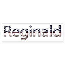 Reginald Stars and Stripes Bumper Bumper Sticker
