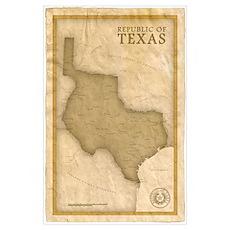 Republic of Texas Poster