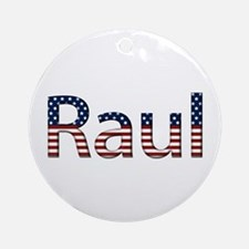 Raul Stars and Stripes Round Ornament