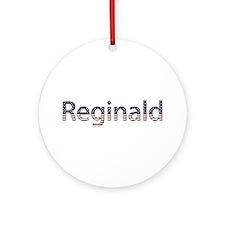 Reginald Stars and Stripes Round Ornament