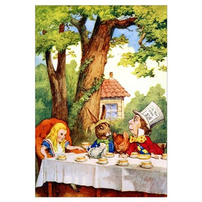 MAD HATTER'S TEA PARTY Canvas Art