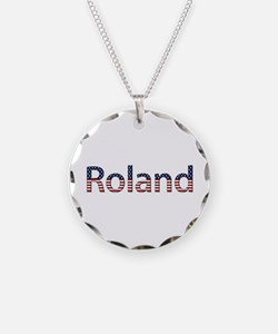 Roland Stars and Stripes Necklace