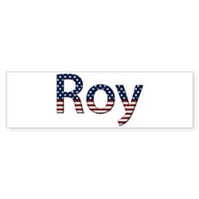 Roy Stars and Stripes Bumper Bumper Bumper Sticker