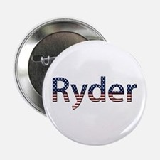Ryder Stars and Stripes Button