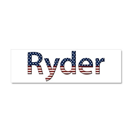 Ryder Stars and Stripes 10x3 Car Magnet