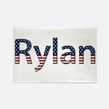 Rylan Stars and Stripes Rectangle Magnet
