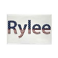 Rylee Stars and Stripes Rectangle Magnet