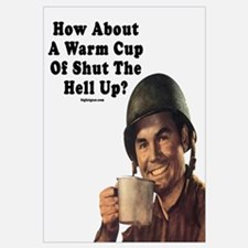 A nice warm cup of shut the fuck up