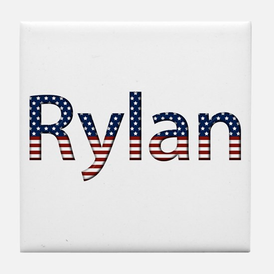 Rylan Stars and Stripes Tile Coaster