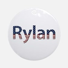 Rylan Stars and Stripes Round Ornament