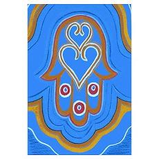 Hamesh Blue Poster
