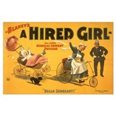 HIRED GIRL 11x17 Poster