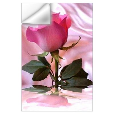 Pink Rose Wall Decal