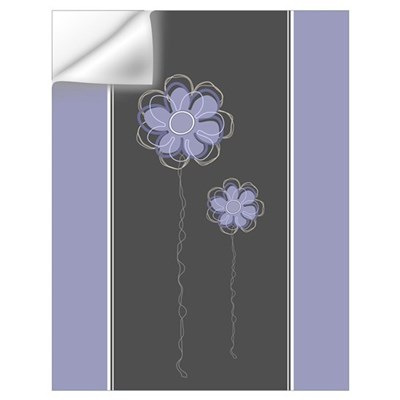 Trendy Floral Decor Wall Decal
