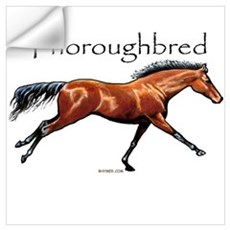 Thoroughbred Wall Decal