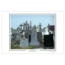 Crosses in Roscommon Framed Print