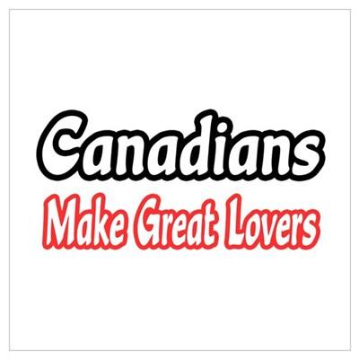 """Canadians...Great Lovers"" Canvas Art"