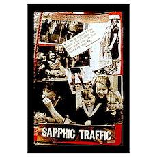 sapphic traffic Poster