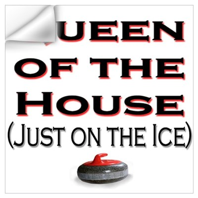 Queen of the House2 Wall Decal